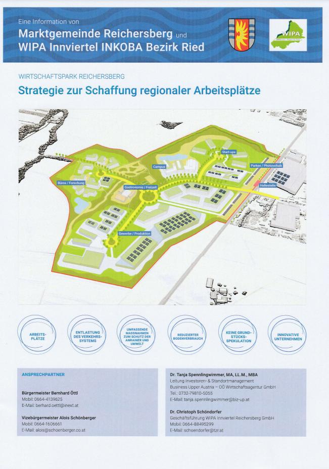 Wirtschaftspark Reichersberg